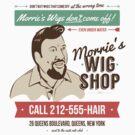 Morrie's Wig Shop by David Halford