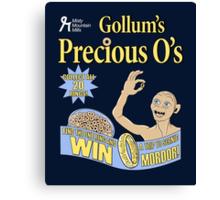 Gollum's Precious O's Canvas Print