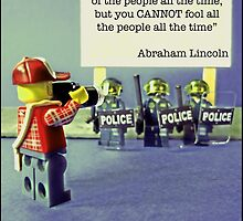 """...You cannot fool all of the people all of the time""  by Tim Constable"