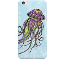 Electric Jellyfish iPhone Case/Skin