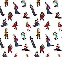 Discpattern - random by Konidraws