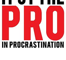 Procrastination by Al Craker