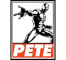 Spider-Man Pete Obey Design Photographic Print