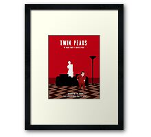 The Man from Another Place Framed Print