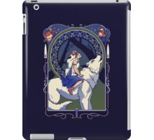 Wolf Princess Nouveau iPad Case/Skin