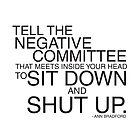 Negative Committee  by Jeri Stunkard