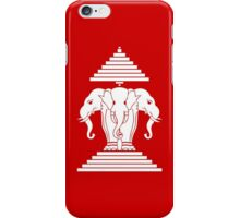 Erawan Lao / Laos Three Headed Elephant iPhone Case/Skin