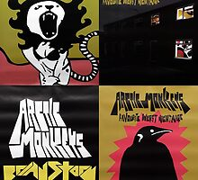 Favourite Worst Nightmare Tour Posters by Rockin' Threads