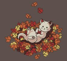 Autumn Cat Kids Clothes