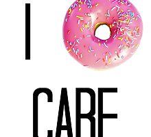 I Donut Care by victoriaajoverr