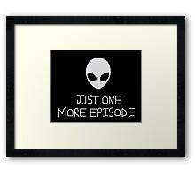 Roswell Just One More Framed Print