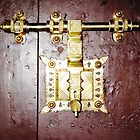 Big Brass Door Lock © by Ethna Gillespie