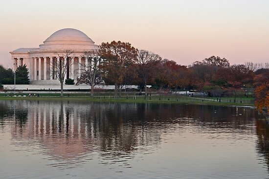 Dusk over DC by cclaude