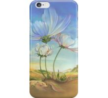 In the Half-shadow of Wild Flowers iPhone Case/Skin