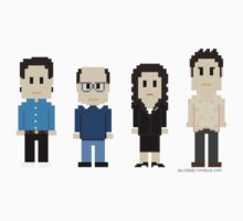 8-Bit Seinfeld by AlCreed