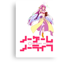 No Game No Life Canvas Print