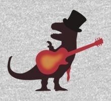 Slash as T-Rex by jezkemp