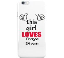 this girl loves ts iPhone Case/Skin