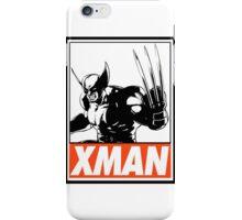 Wolverine Xman Obey Design iPhone Case/Skin