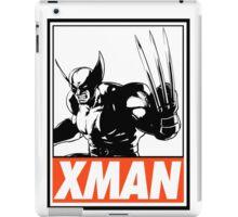 Wolverine Xman Obey Design iPad Case/Skin