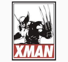 Wolverine Xman Obey Design T-Shirt