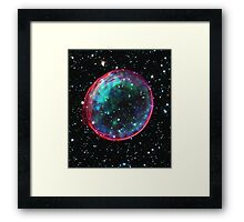 Bubble Supernova | Mathematix by Sir Douglas Fresh Framed Print