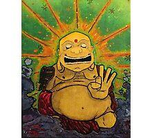 The Happy Buddha Photographic Print