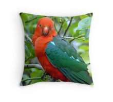 Australian Native King Parrot Throw Pillow