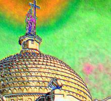 Temple of Light Sticker