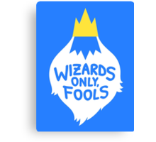 Wizards Only, Fools Canvas Print