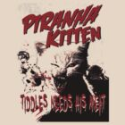 Piranha Kitten by blackiguana