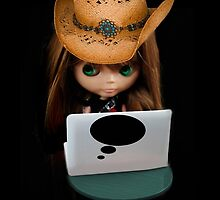 THOUGHTS OF YOU DOLL & LAPTOP PICTURE/CARD by ✿✿ Bonita ✿✿ ђєℓℓσ