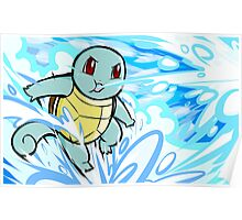 Squirtle | Bubble Poster