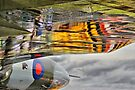 Vulcan Reflections Farnborough 2014 by Colin J Williams Photography