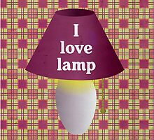 I Love Lamp by The Eighty-Sixth Floor