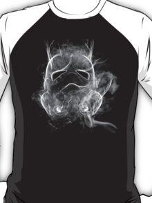 Smoke Stormtrooper Helmet - Black & White T-Shirt