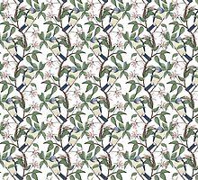 Bird Spotting (white) by Lydia Meiying