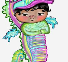 My Favourite Animal is a Rainbow Dragon Seahorse  by Beatrice  Ajayi