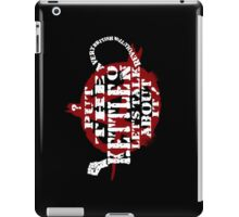 A Very British Revolution iPad Case/Skin