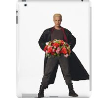 the big bad's back, and hes got flowers! iPad Case/Skin