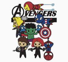 AVENGERS ASSEMBLE!  by wss3