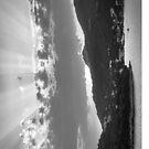 Dubrovnik Beams BW II [iPad case] by Matti Ollikainen