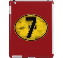 Lucky 7 iPad Case/Skin