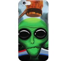 Whack 'A' Alien iPhone Case/Skin