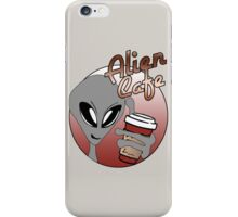 Alien Cafe iPhone Case/Skin