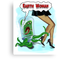 Earth Woman! Canvas Print