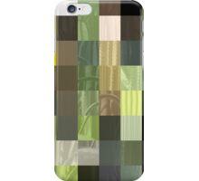 Cactus Garden Abstract Rectangles 3 iPhone Case/Skin