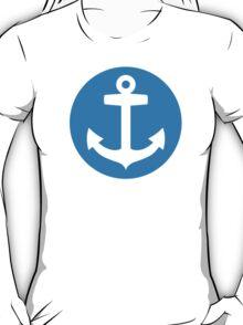 Blue anchor symbol T-Shirt