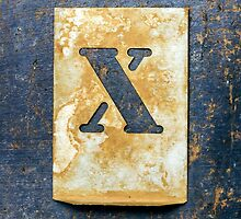 Letter X by Ricard Vaqué