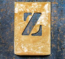 Letter Z by Ricard Vaqué